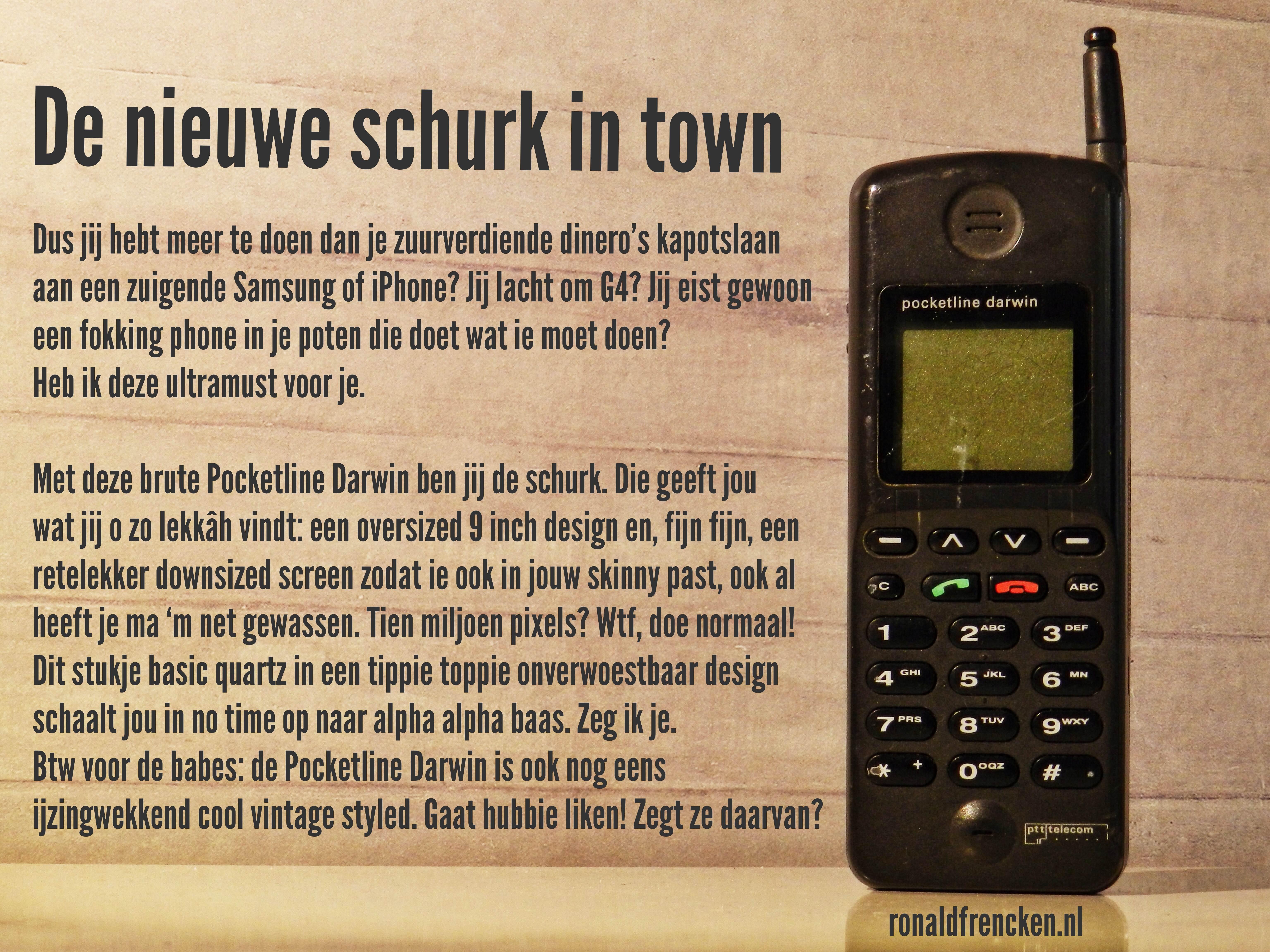 Ronald Frencken Samsung iPhone Shoc